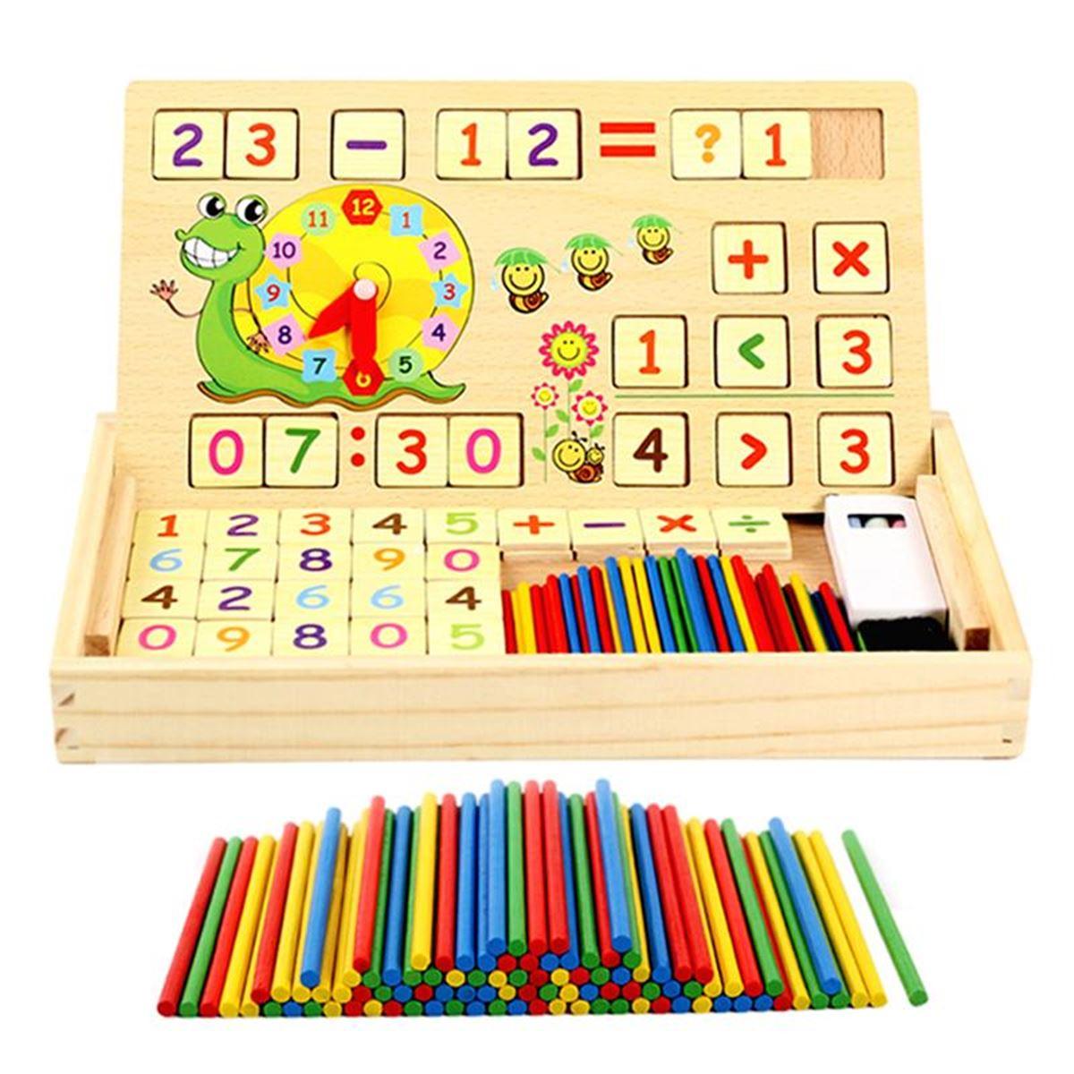 Mukabo Matematik Öğreniyorum Kutusu Eğitici Oyuncak