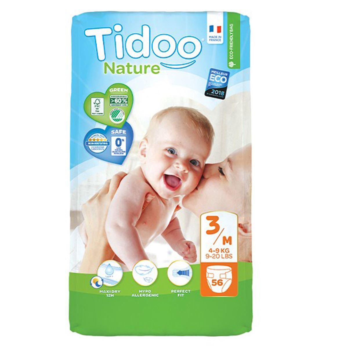 Tidoo Nature Bebek Bezi Jumbo Paket