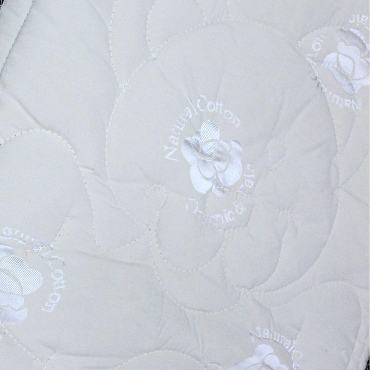 Mukabo Yükseklik 10 cm Nature Organik Kuzu Yünü Pamuklu Bebek Çocuk Ergonomik Yatak