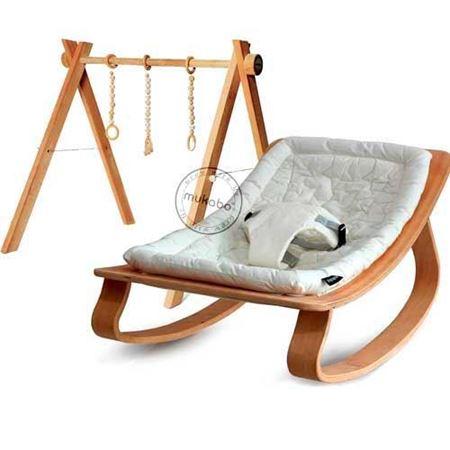 25x45 mm Ahşap Malzemeden Daha Kaslı Yeni Haliyle Mukabo Active Baby Gym Stokta.